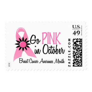 Breast Cancer Awareness Month Postage Stamp