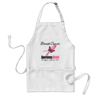 Breast Cancer AWARENESS Month Ribbon Adult Apron