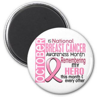 Breast Cancer Awareness Month Ribbon I2 1.2 Refrigerator Magnet