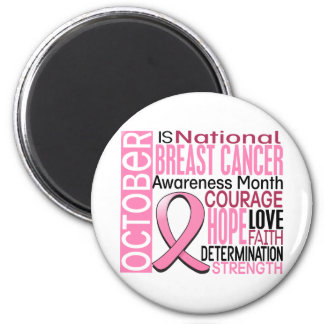 Breast Cancer Awareness Month Ribbon I2 1.3 Magnet