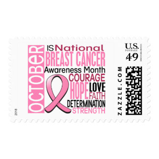 Breast Cancer Awareness Month Ribbon I2 1.3 Postage