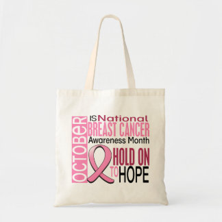 Breast Cancer Awareness Month Ribbon I2 1.4 Tote Bag