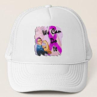 Breast Cancer Awareness Month, Rosie Riveter Trucker Hat