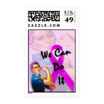 Breast Cancer Awareness Month, Rosie the Riveter Stamps
