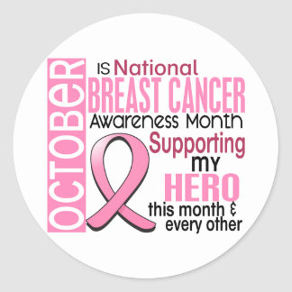 Breast Cancer Awareness Month Stickers