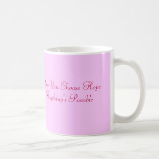 breast cancer awareness classic white coffee mug