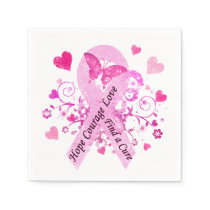 Breast Cancer Awareness Napkin
