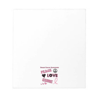 Breast Cancer Awareness Notepad