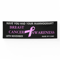 Breast Cancer Awareness | Personalize Banner