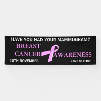 Breast Cancer Awareness   Personalize Banner
