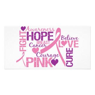 Breast Cancer Awareness Photo Card