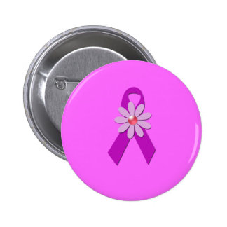 Breast Cancer Awareness Pinback Button