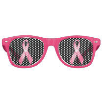 Breast cancer awareness pink party shades