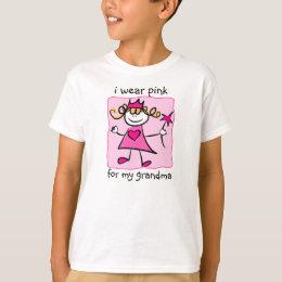 Breast Cancer Awareness: Pink Princess T-Shirt
