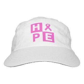Breast Cancer Awareness Pink Ribbon Hope design Headsweats Hat