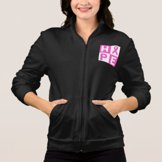 Breast Cancer Awareness Pink Ribbon Hope design Jacket