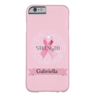 Breast Cancer Awareness Pink Ribbon iPhone 6 Case