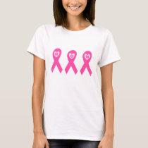 Breast Cancer Awareness Pink Ribbon MOM T-Shirt