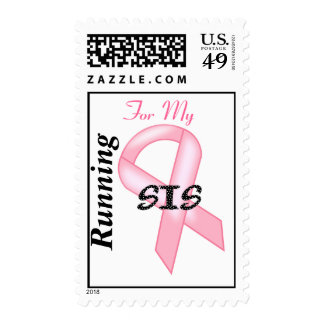 Breast Cancer Awareness - Pink Ribbon Postage