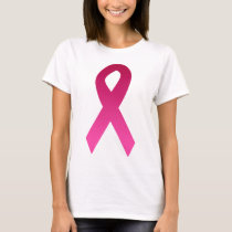 Breast cancer awareness pink ribbon T-Shirt