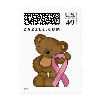 Breast Cancer awareness Pink RibbonPostage stamps