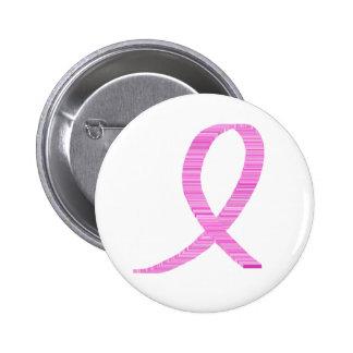 Breast Cancer Awareness Pinkt Ribbon Pinback Button