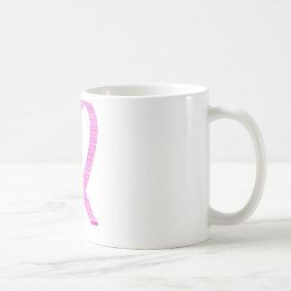 Breast Cancer Awareness Pinkt Ribbon Coffee Mugs
