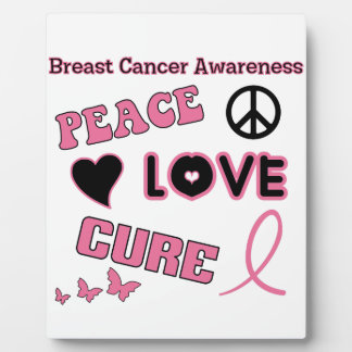 Breast Cancer Awareness Plaque