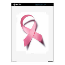 breast cancer awareness plate iPad 2 decal