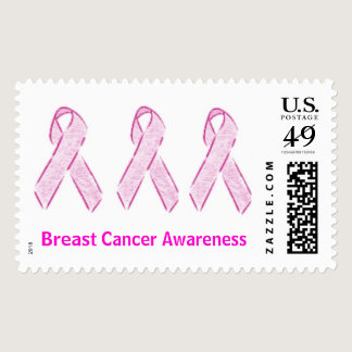 Breast Cancer Awareness Postage