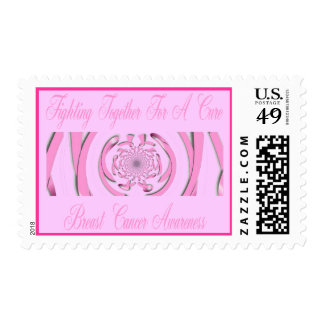 Breast Cancer Awareness Postage Stamp