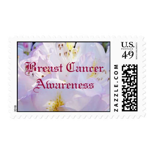Breast Cancer Awareness postage stamps PINK