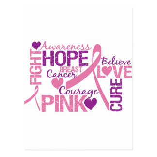 Breast Cancer Awareness Post Card