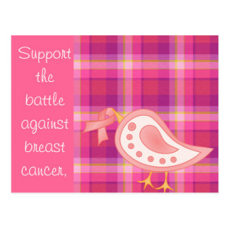 Breast Cancer Awareness Postcard