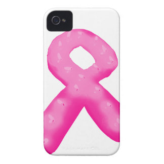 Breast Cancer Awareness Ribbon Candle iPhone 4 Case-Mate Cases