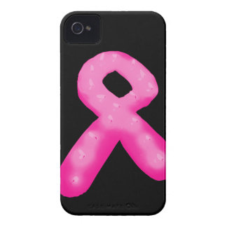 Breast Cancer Awareness Ribbon Candle Case-Mate iPhone 4 Case
