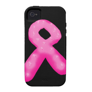 Breast Cancer Awareness Ribbon Candle Case-Mate iPhone 4 Cover