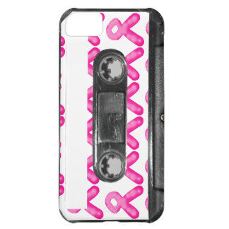 Breast Cancer Awareness Ribbon Candle Cassette iPhone 5C Cases