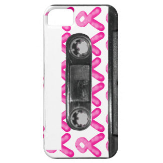 Breast Cancer Awareness Ribbon Candle Cassette iPhone 5 Covers
