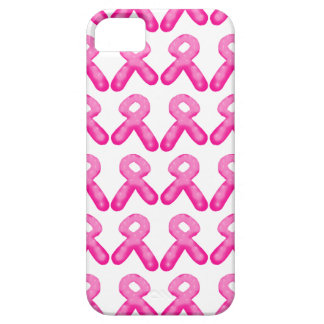 Breast Cancer Awareness Ribbon Candle Pattern iPhone 5 Cover