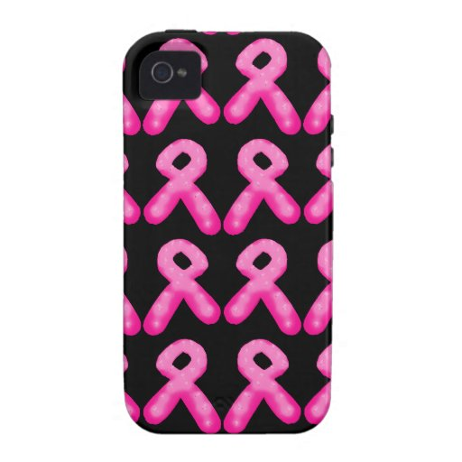 Breast Cancer Awareness Ribbon Candle Pattern Case-Mate iPhone 4 Case