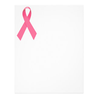 Breast Cancer Awareness Ribbon Flyer