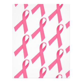 Breast Cancer Awareness Ribbon Print Flyer