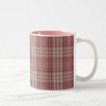 Breast Cancer Awareness Scottish Tartan Mug