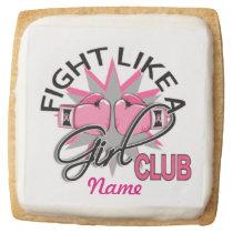 Breast Cancer Awareness Shortbread Cookies