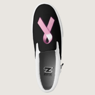 Breast Cancer Awareness Slip Ons
