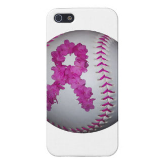 Breast Cancer Awareness Softball iPhone 5/5S Cover