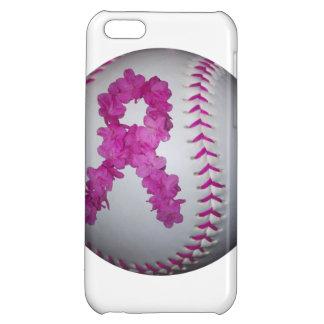 Breast Cancer Awareness Softball iPhone 5C Case