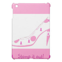 Breast Cancer Awareness Stiletto Cover For The iPad Mini