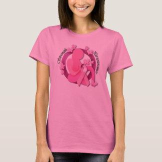Breast Cancer Awareness Strength & Perseverance T-Shirt